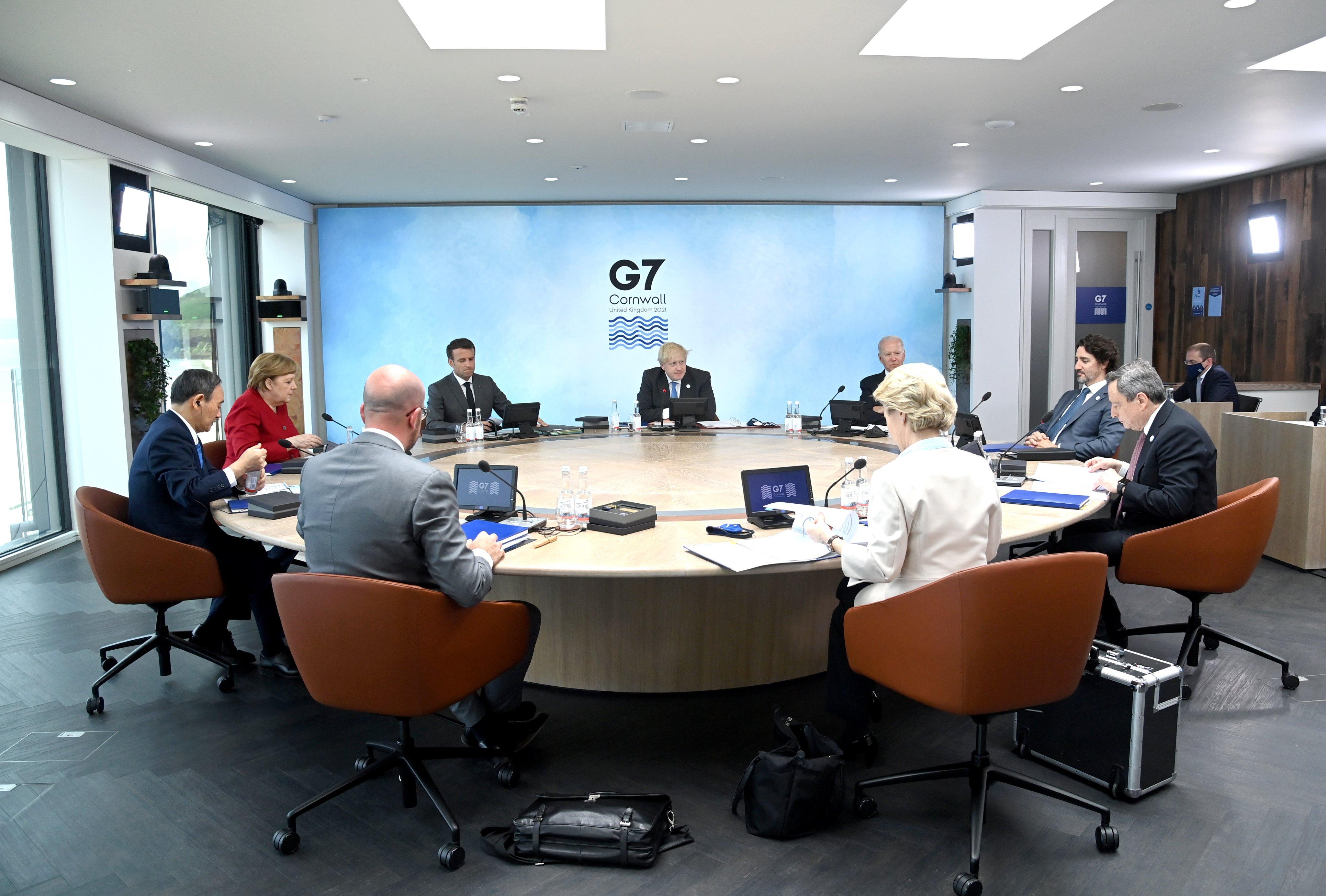 【張登及觀點】G7「康沃爾共識」將因美中寒戰黯然失色