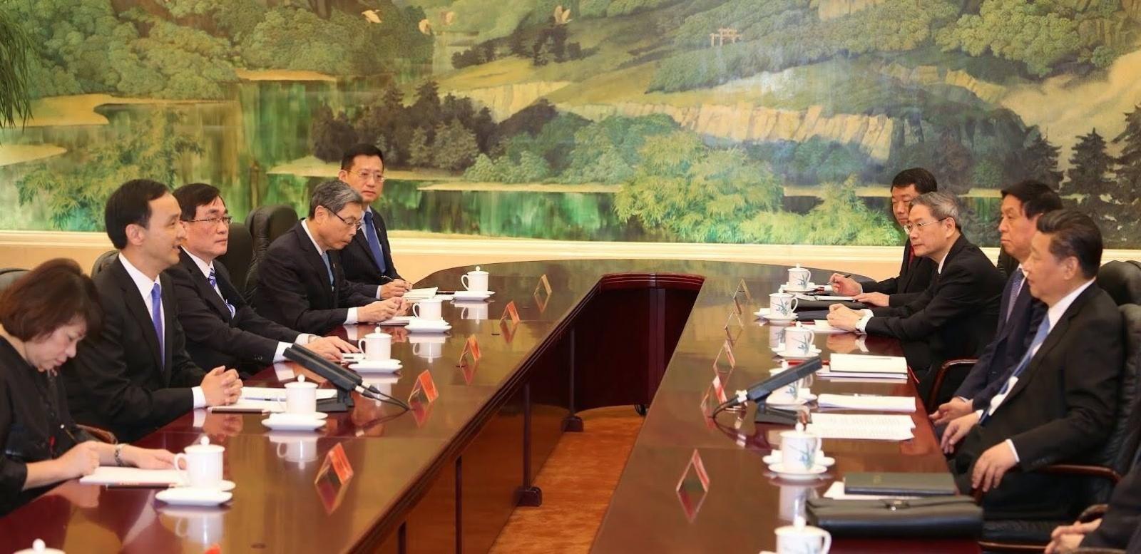 【施威全觀點】國民黨應該提出以中華民國為前提的兩岸論述