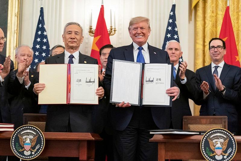 【劉大年觀點】由美中貿易協議看美國總統大選
