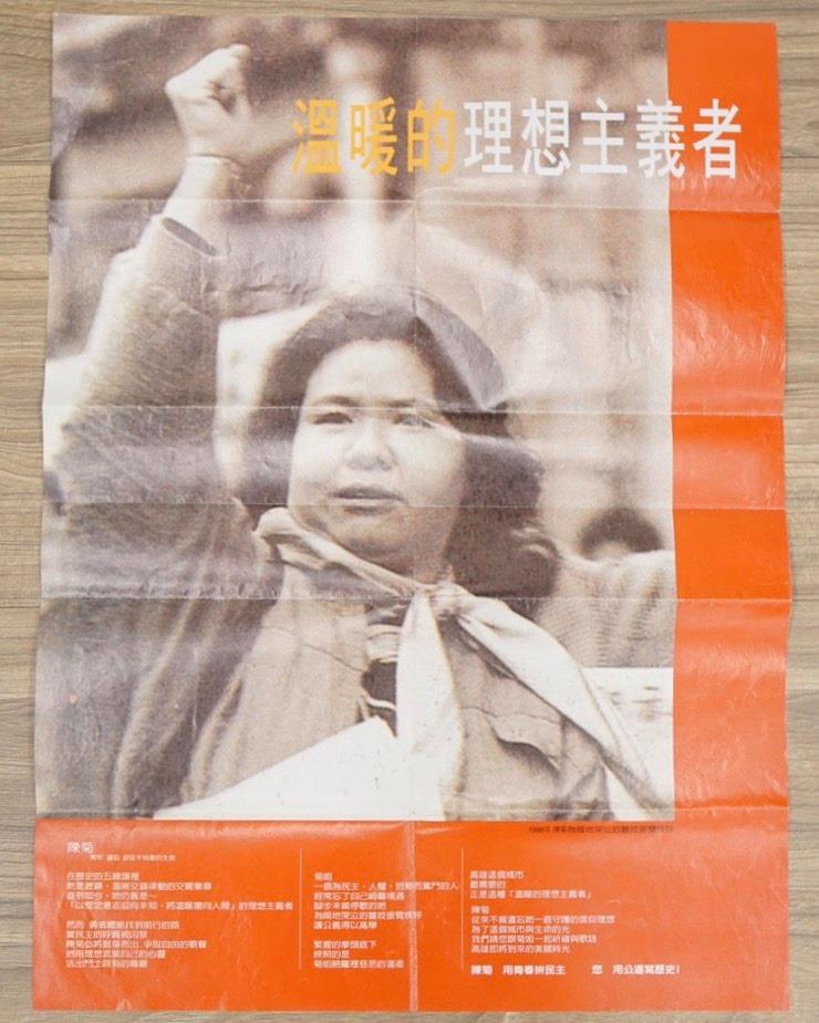 【汪葛雷觀點】憶念1992年那個主張廢監院、國代不支薪的陳菊