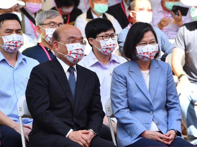 【汪葛雷觀點】蘇貞昌已成蔡政府換不掉的「重擔」